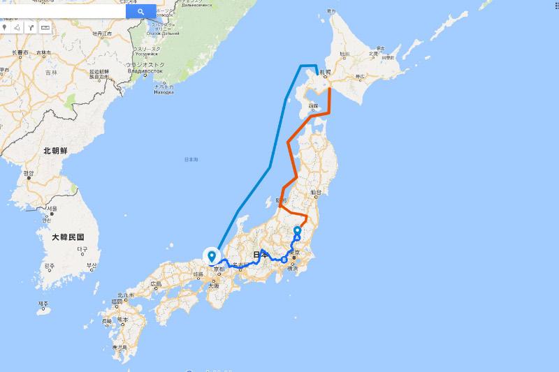 2017夏休み モネの池 ⇒ 海路で北海道へ帰省 2017.08.10~20 ...